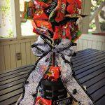 DIY Halloween Candy Topiary