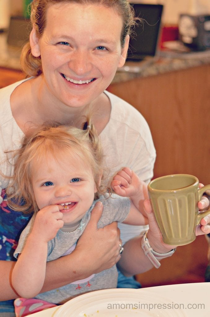Morning Coffee with my Girl #LoveYourCup #shop