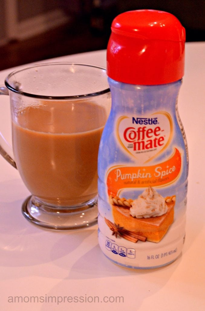 Pumpkin Spice Coffee Creamer #shop #LoveYourCup