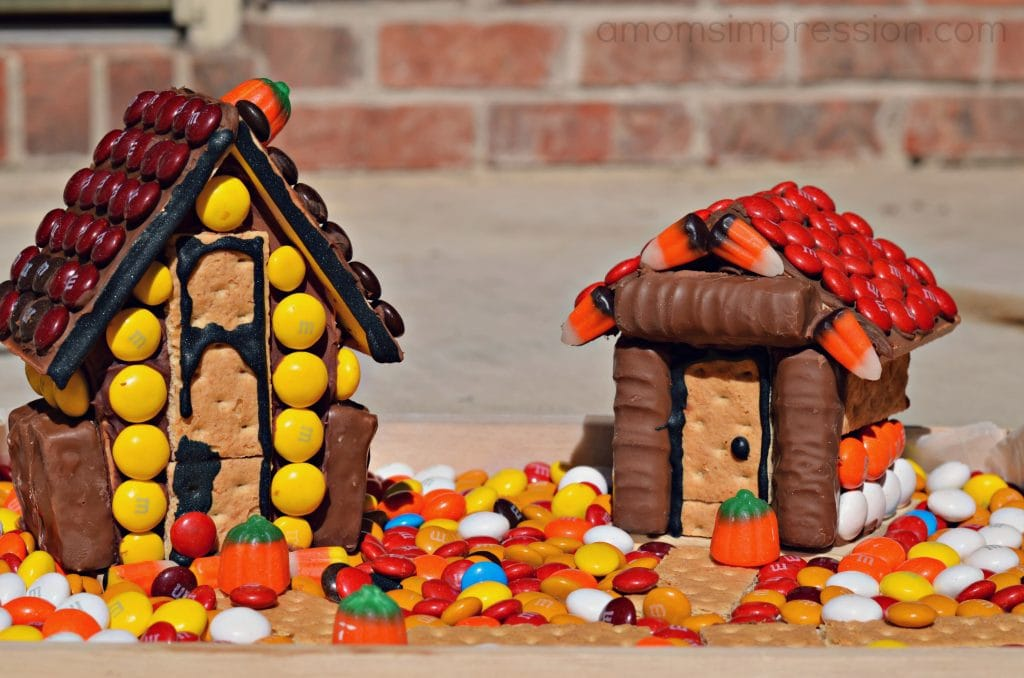 #SpookyCelebrations Haunted Gingerbread houses #shop
