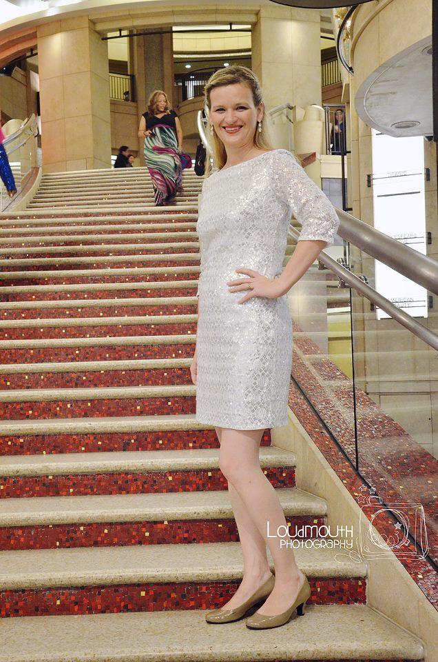 Me on the Oscar Steps