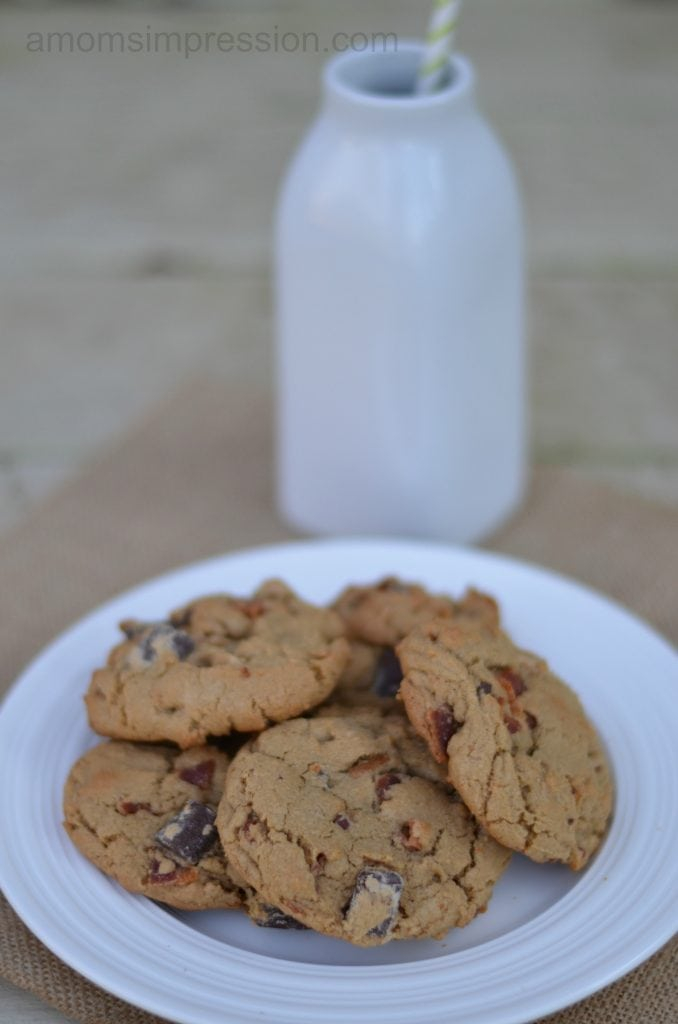 Bacon and Chocolate chip cookies