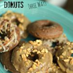 Thinking about Holiday Desserts? Check out these Baked Double Chocolate Donuts Three Ways!