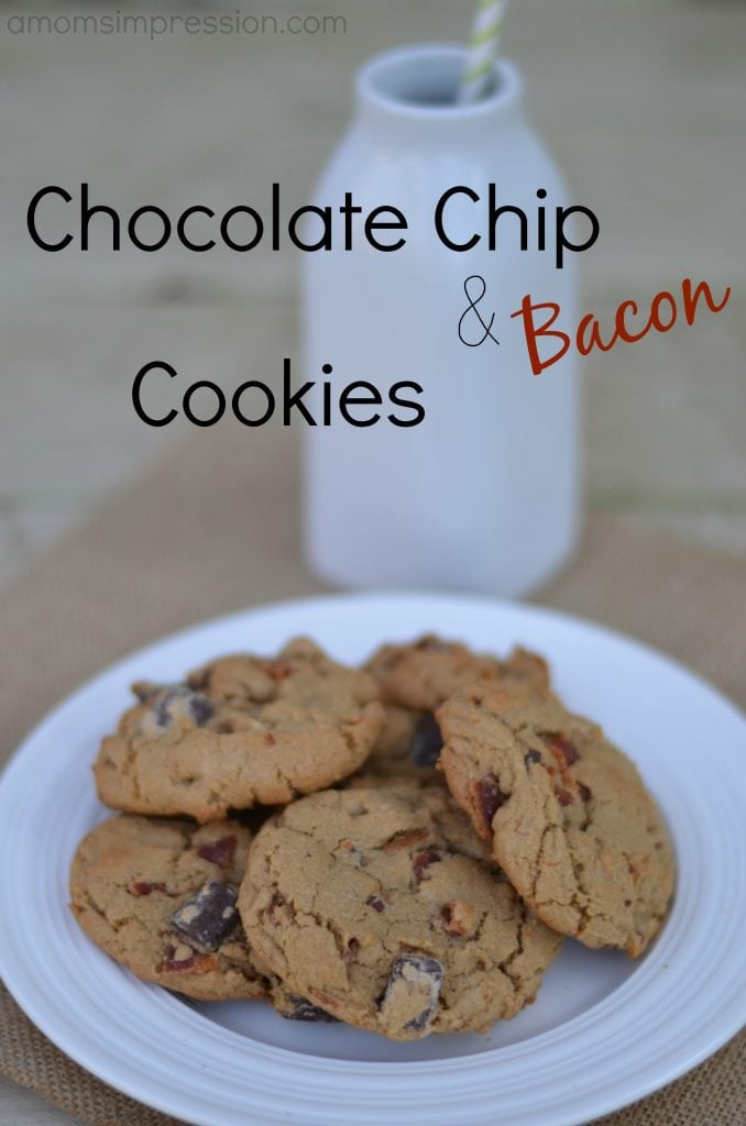 Chocolate Chip and Bacon Cookies - A Mom's Impression ...