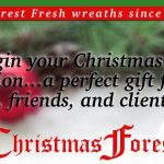 ChristmasForest.com Wreaths for the Holidays Review and Giveaway