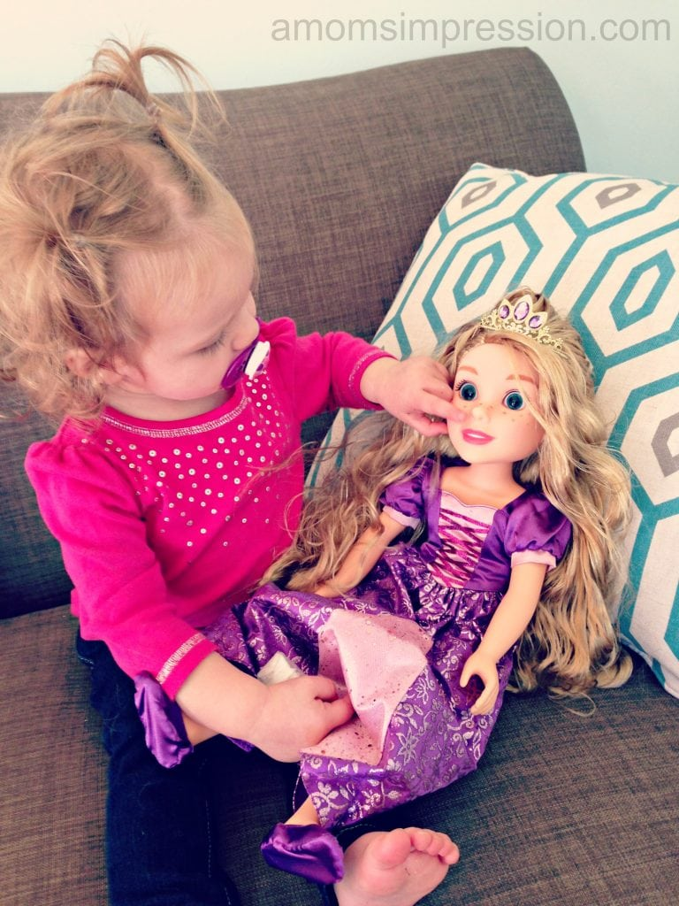 Disney Rapunzel Doll