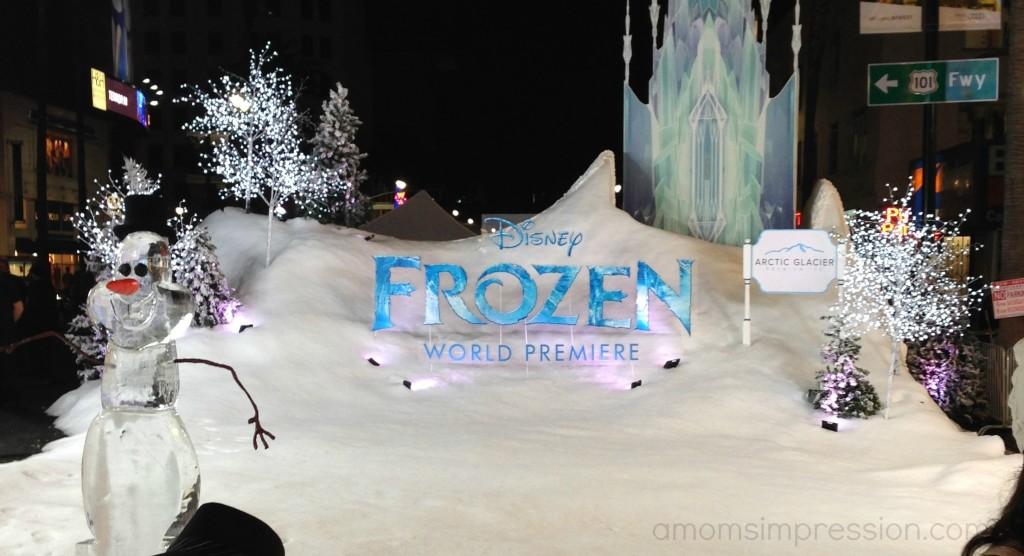 Frozen Red Carpet Premiere