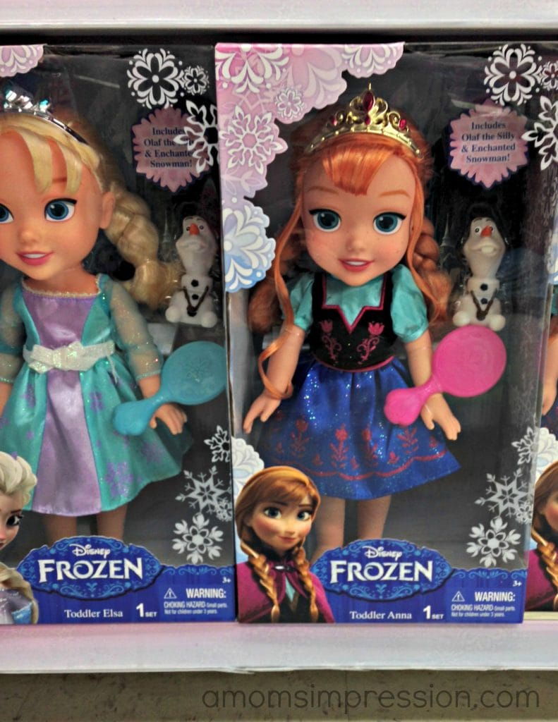 Having Some Fun With Disney Frozen Toys