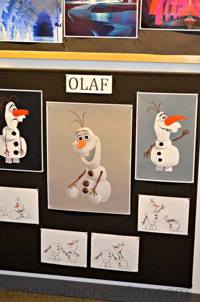 Making Olaf