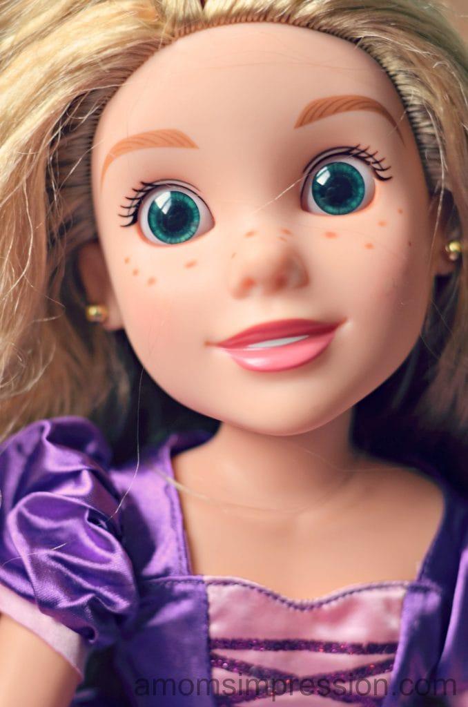 Rapunzel Doll Features