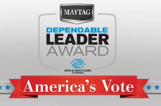 Maytage Dependable Leader Award