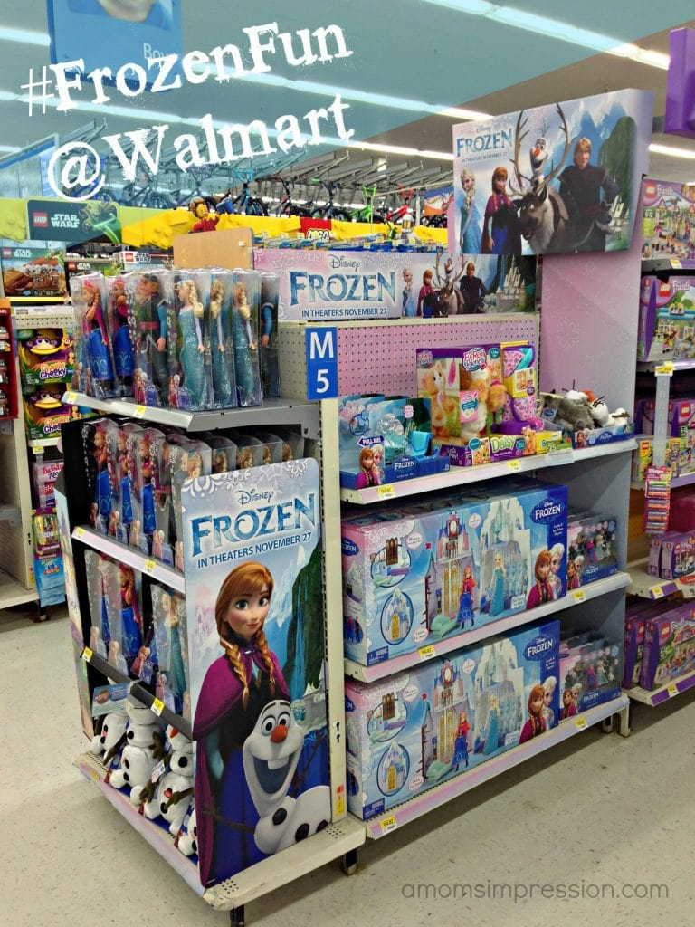 Having Some Fun With Disney FROZEN Toys A Moms