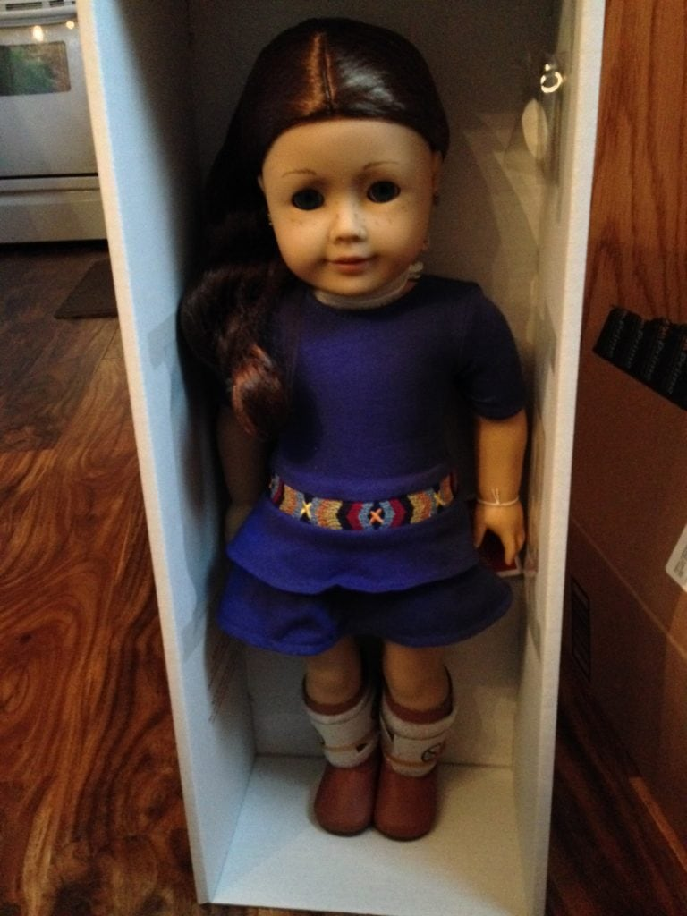 American Girl Doll Saige