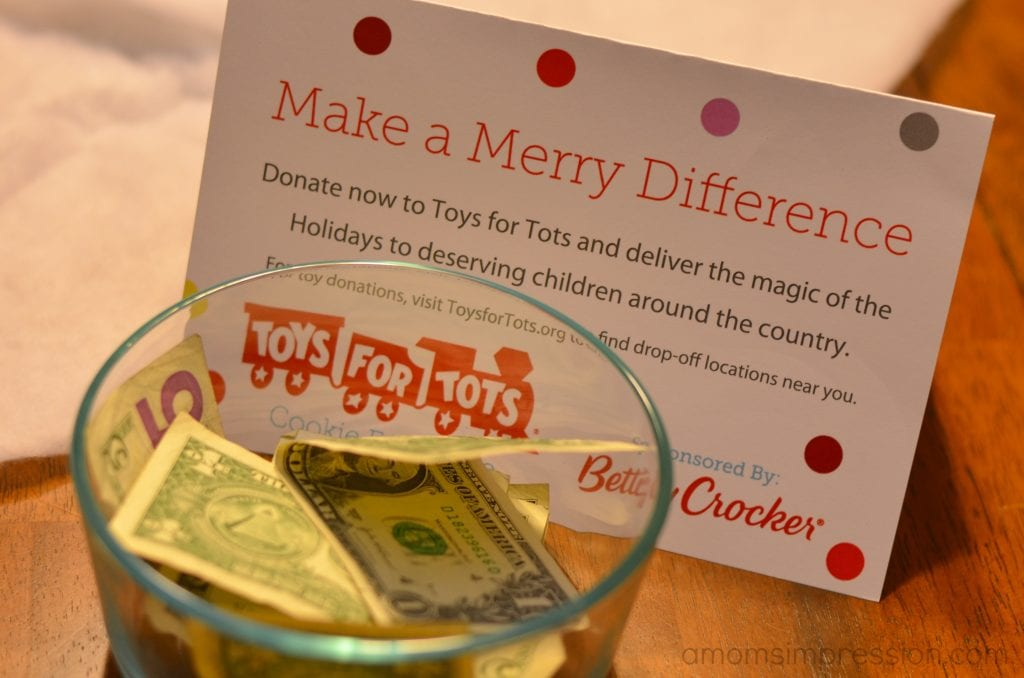 Toys For Tots Donations : Betty crocker and toys for tots cookie exchange