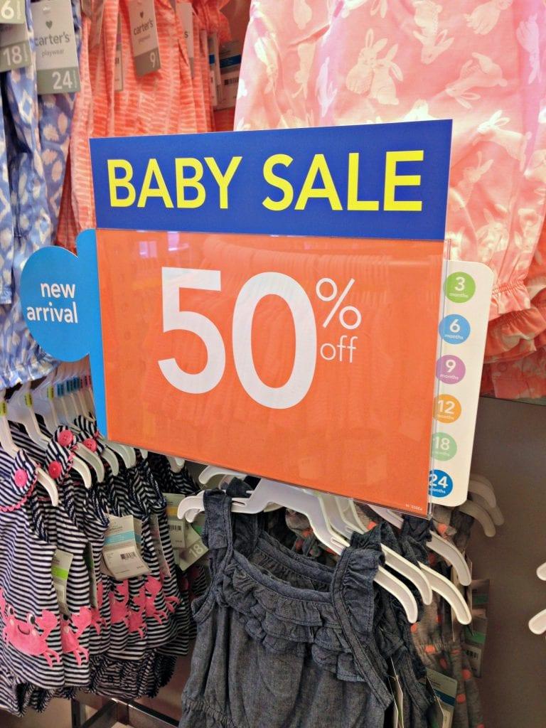 Carters Baby Sale