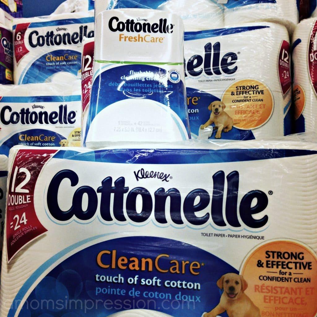 Cottonelle Routine
