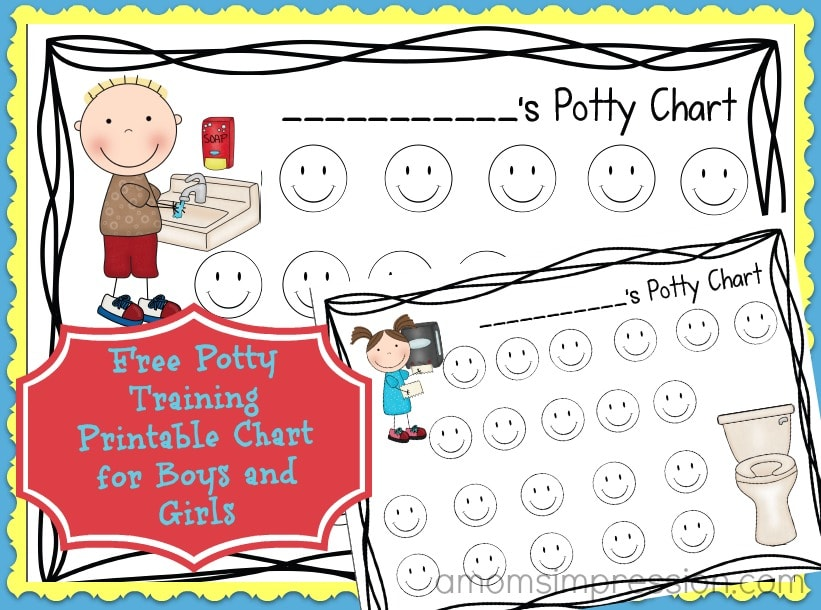 Free Potty Chart Printable