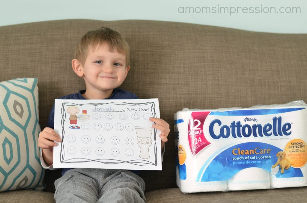 Potty Clean Routine