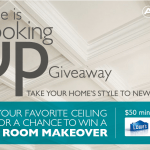 "Armstrong Residential Ceilings' ""Style Is Looking Up"" #Giveaway #MC"