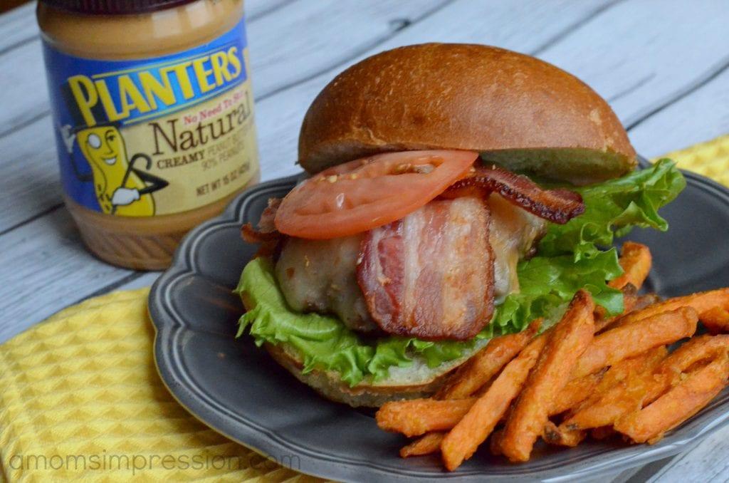 Planters Peanut Butter Cheeseburger