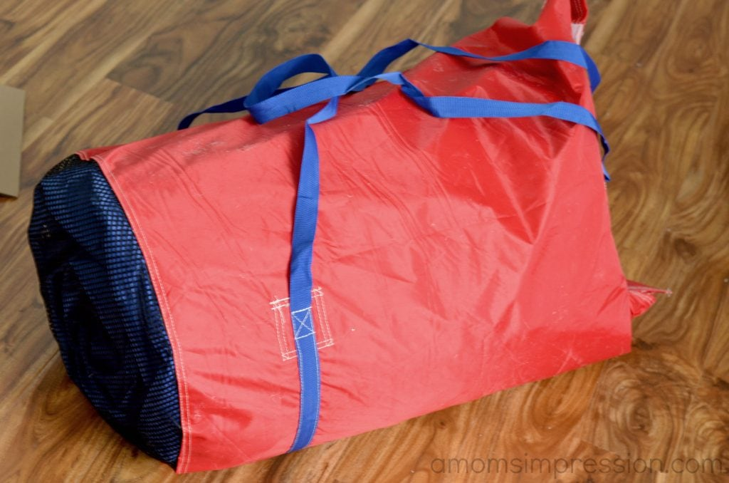 Bounce house storage bag