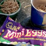 Cadbury Eggs Nest