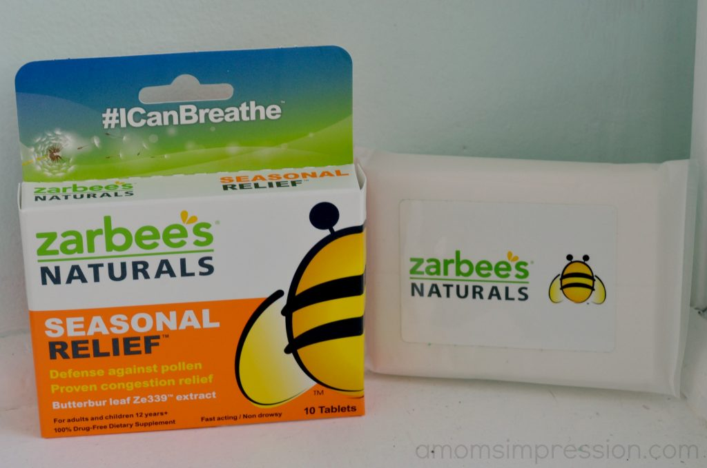 Natural Seasonal Relief #ICanBreathe  A Mom's Impression Parenting  #044D7D