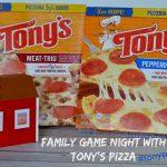 Game Night with Tony's Pizza!  #tonyspizzeria