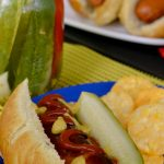 American Craft Sausage and Spicy Homemade Pickles Grilling Recipes