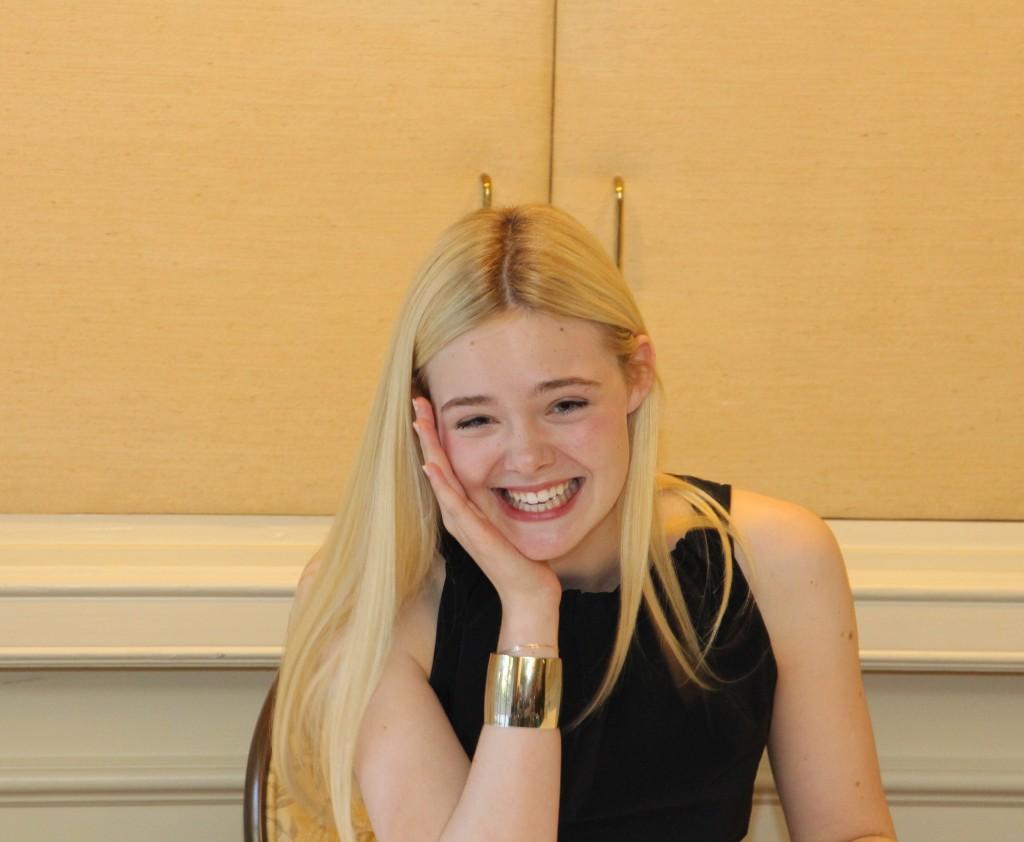 Elle Fanning Interview