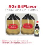 Join Me at the #Grill4Flavor Twitter Party June 6th