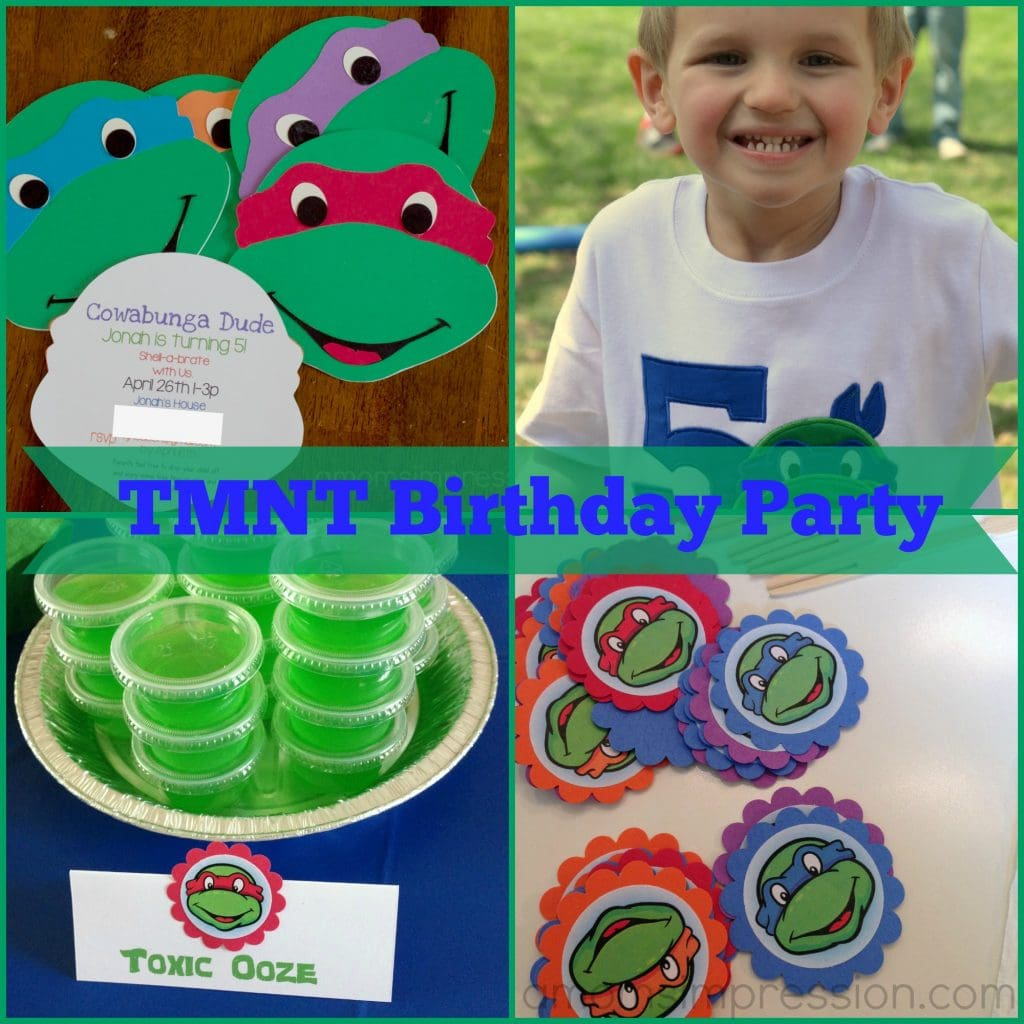 TMNT Birthday Party