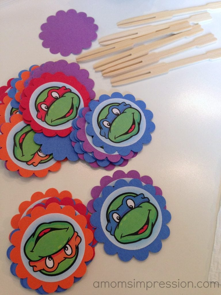 TMNT birthday ideas