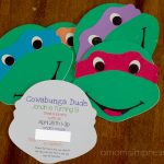 tmnt birthday party invitations