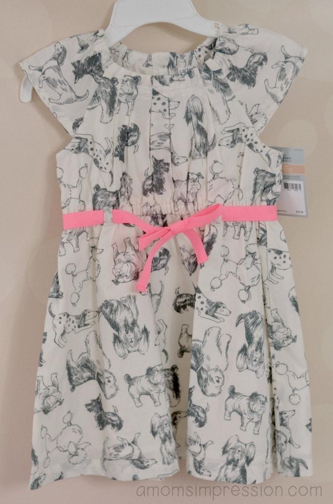 Carters dog dress