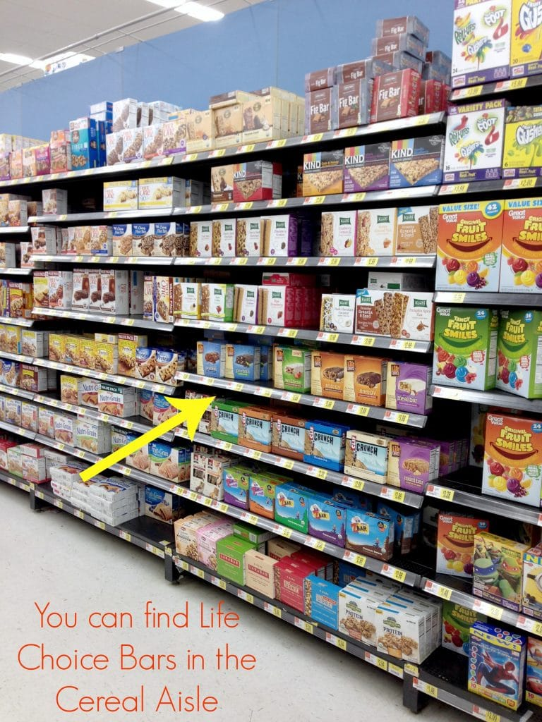 Life Bars at Walmart