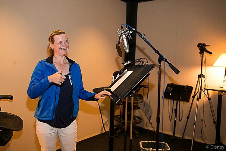 Dipper Voice Over at Disney Toon Studios