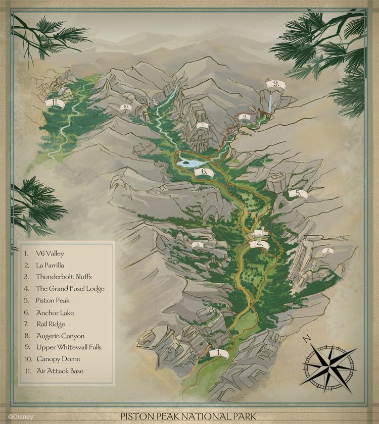 piston-peak-national-park-map