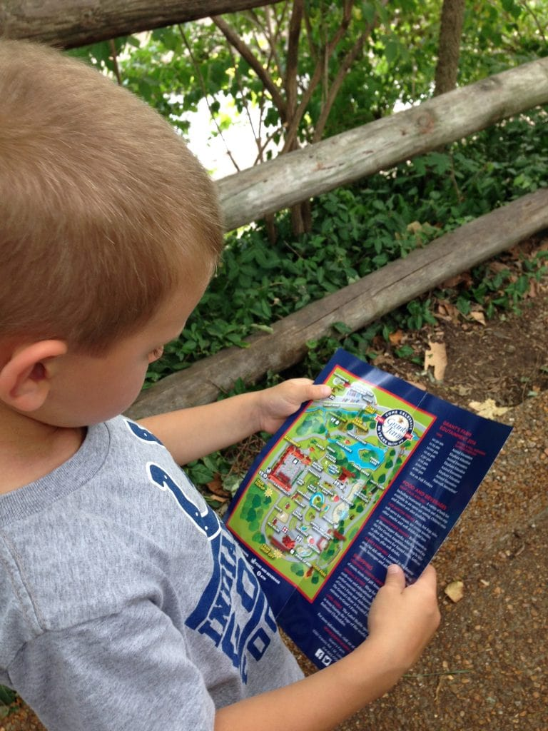 Our map reader