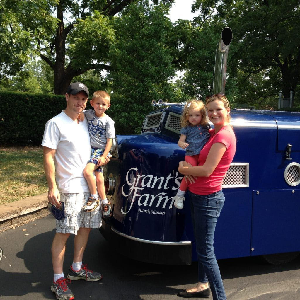 Family Fun at Grant's Farm