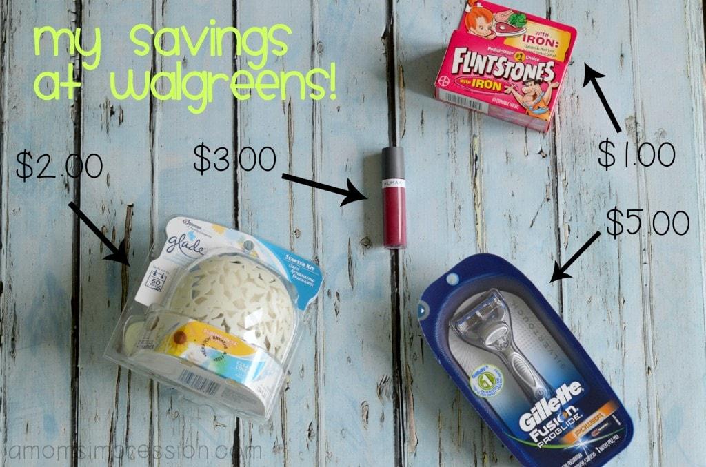 Walgreens Savings