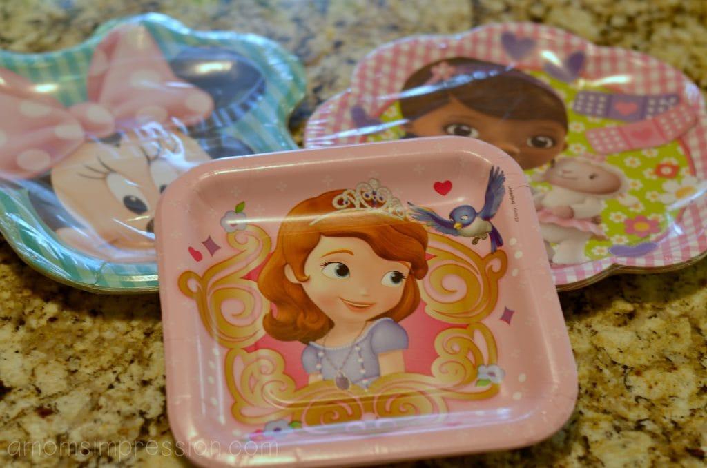 Disney Jr Plates