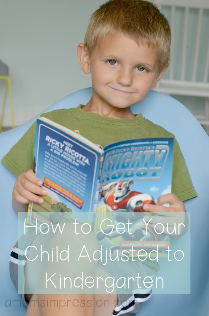 How to get your chid adjusted to kindergarten