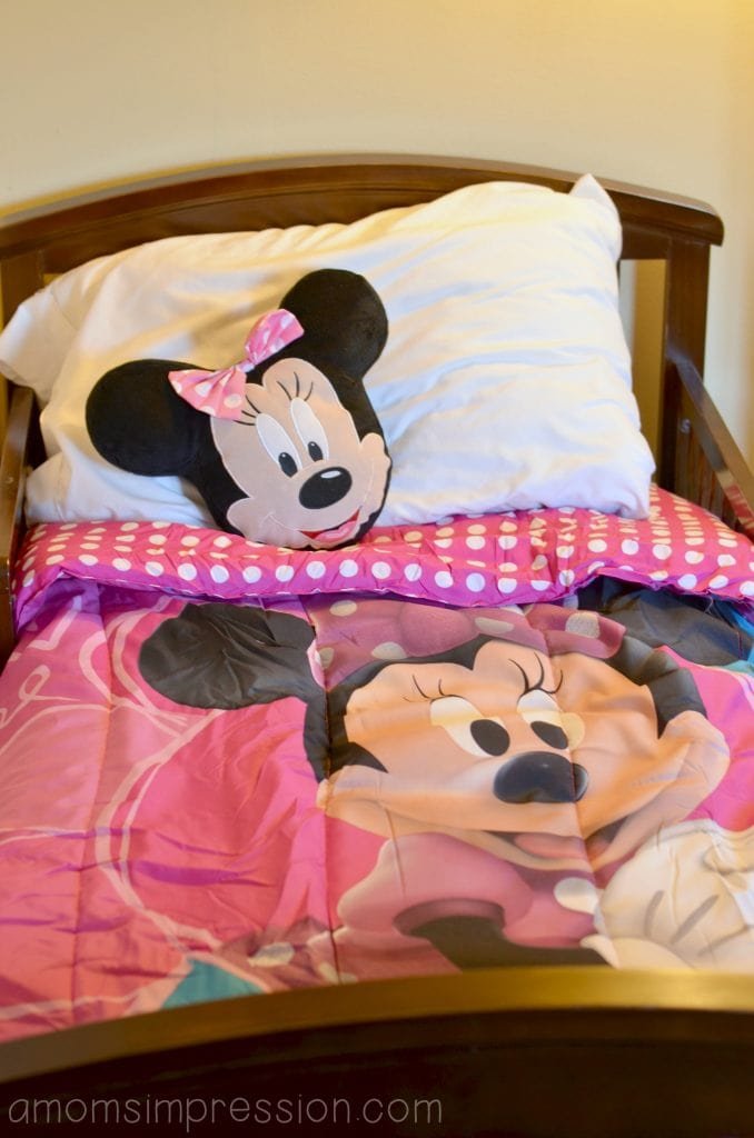 Minnie Mouse Slumber Party Time A Mom S Impression