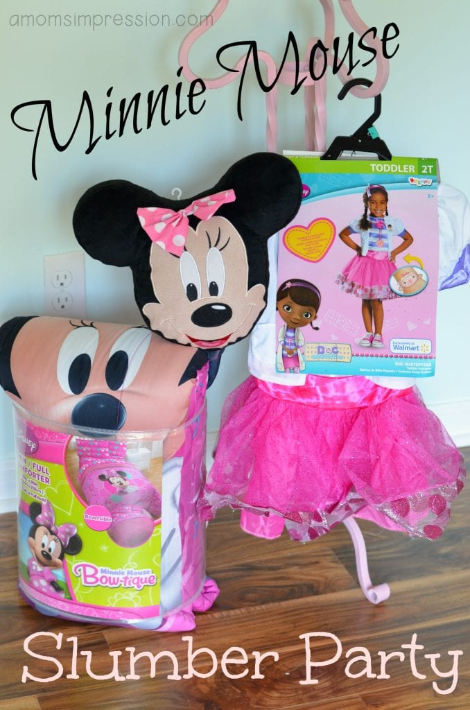 Minnie Mouse Slumber Party