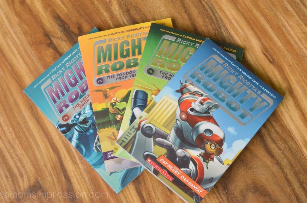 Ricky Ricotta's Mighty Robot Series