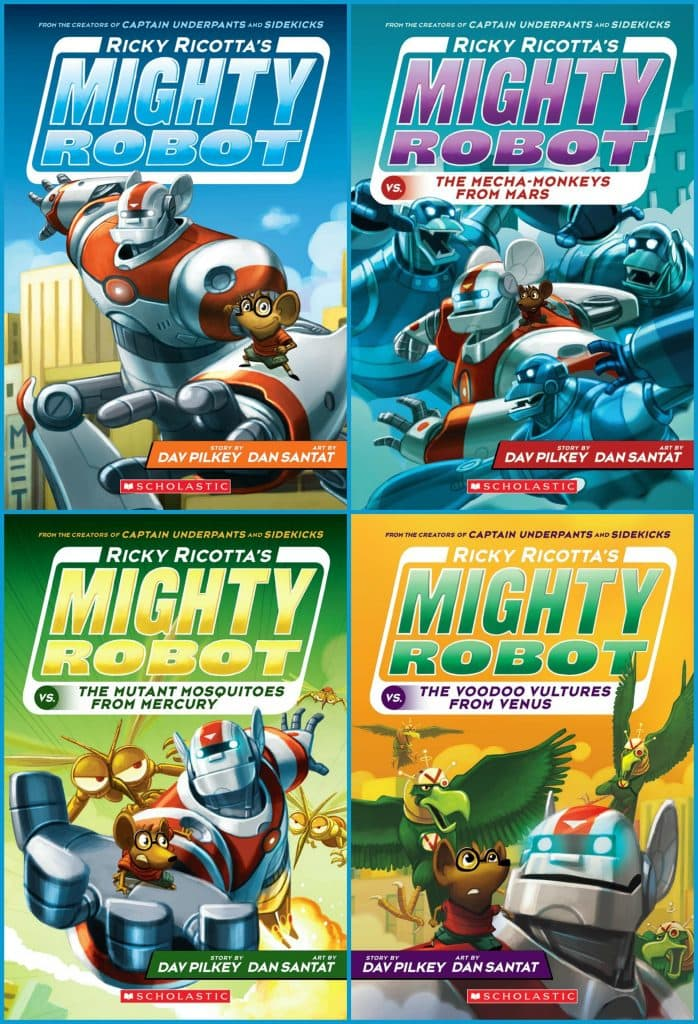 Ricky Ricotta's Book Covers