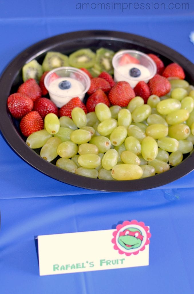 TMNT Fruit Tray