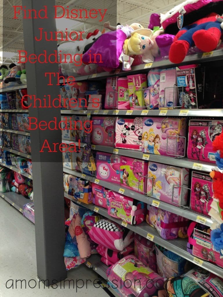 Walmart Disney Junior Bedding