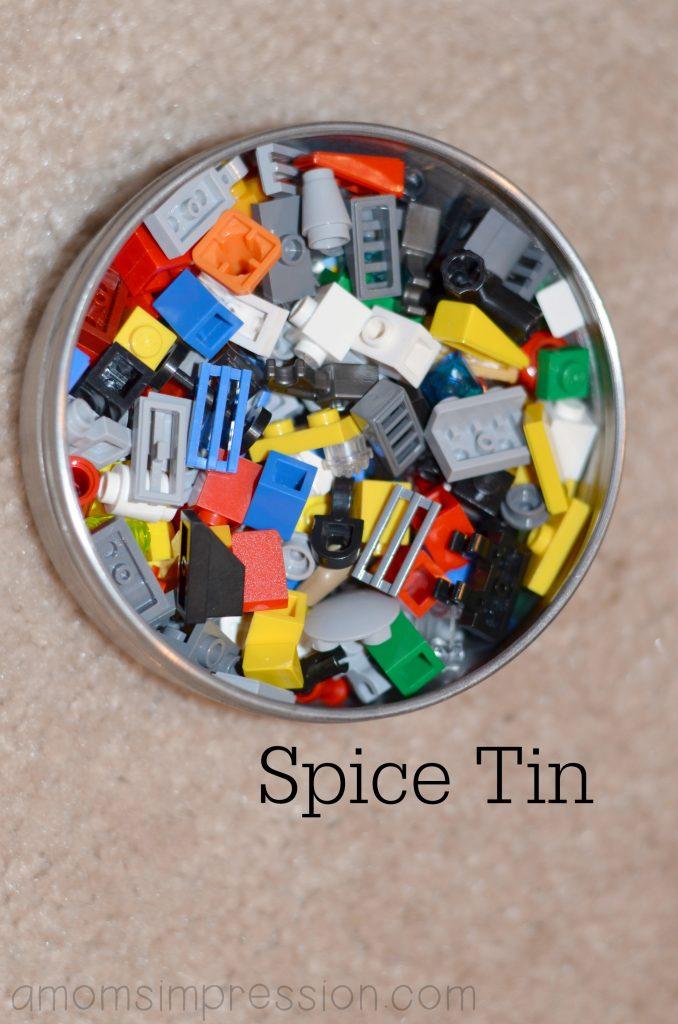 Lego Tin Storage